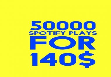 buy 50000 spotify plays