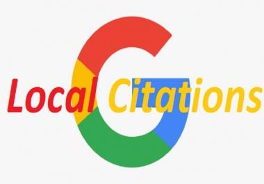 45 Local Citations Handmade