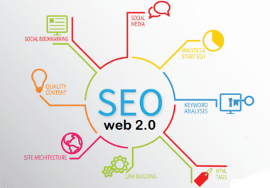 Provide 150 High DA PA Web 2.0 backlink for you