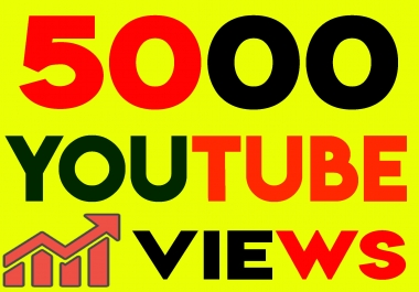 Fast 5000+ Youtube Views 100 likes High Retention, non drop guarantee within 24hrs