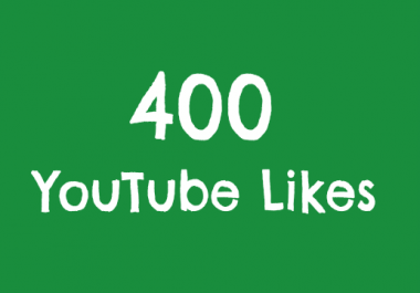 400+ Real Video Likes Within 12-24 Hours