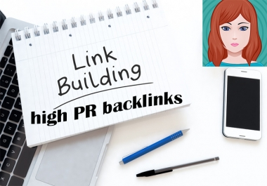 Manually make 50 Pr9 safe SEO backlinks high DA/PA on your website