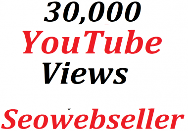 Super Offer 30K HQ You-Tube Vie/ws In Your Video Refill Guarantee