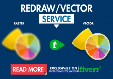Vectorise your logo professionally in 24 hours