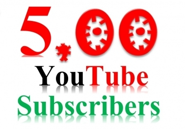 Manually Add 500 You-tube Subscribers Non Drop and HQ