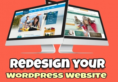 Redesign your wordpress website in awesome look