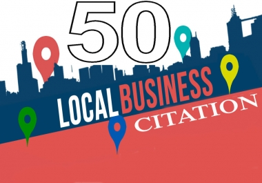 Create 50 UK/Canada/Australia USA Live Local CITATION for Local SEO