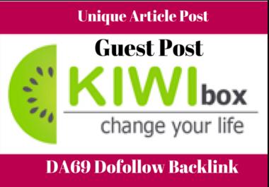 Write + Publish Guest Post On Kiwibox , Minds, Kinja