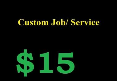 Custom order for my buyer