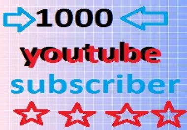 1000 you  tube subscribers or 2800 you  tube likes or 1300 auto comments give you