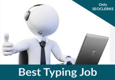 Do Accurate Typing Job Of 20 Pages