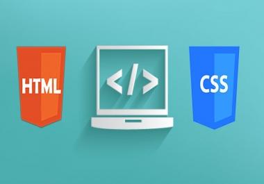 Frontentd Development - Html,CSS, Javascript