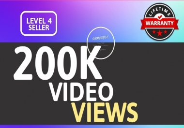 SUPER INSTANT 200K+ HQ WorldWide VIEWS FOR SOCIAL MEDIA POST
