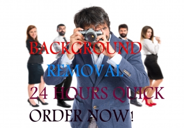'I Will' Remove 100 Images Background Within 1 Day