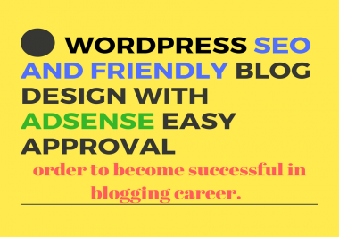i'll create wordpress awesome blog