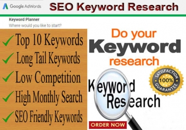 I Can Run In Depth SEO Keyword Research