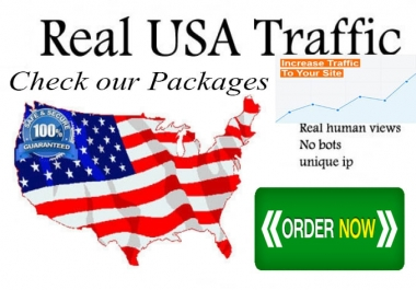 Drive 45,000 USA Low Bounce Targeted Traffic