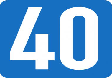 add 40 SEO Authority High pr Backlinks