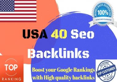 create your website 40 High DA Authority profile backlinks