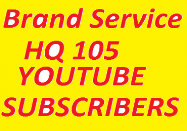 Bumper Offer 105 Non-Drop High Quality YouTube Subscribers