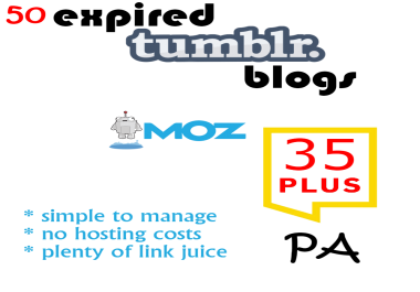 50 Tumblr Blogs with PA+35