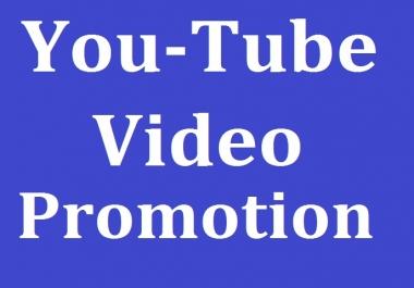 YouTube Video Promotion & Social Media Marketing