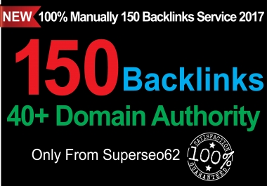 Skyrocket your Google RANKINGS 150 Backlinks from High DA 40+ Domains LIMITED TIME