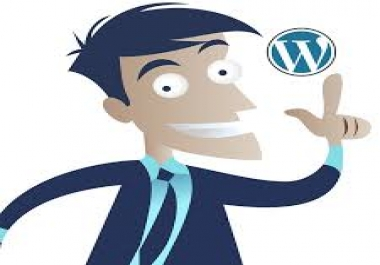 Design A Complete Wordpress WebSite With SEO