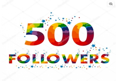 Instant Start 500 Folloowers To Your Social Profile