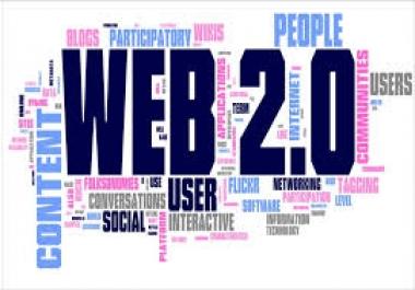 I will do  90 manually Web 2.0 Blog