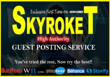Write And Publish Top 30 High Authority Guest Post