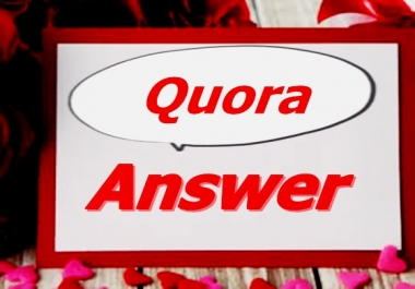 Promote your website by 3 HQ Quora Answers backlink Guarantee