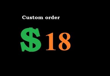 Custom Order: Personal Buyer