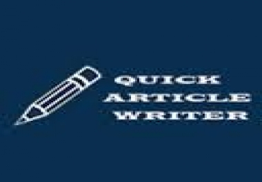 Articles Package - set of 900-1000word articles with quick turnaround