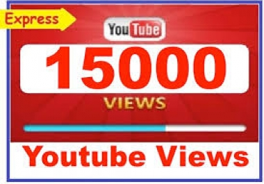 Adsense Safe 15000 Youtube Views+500 Likes to your video within 2-3 hours