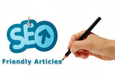 Two 1000 words SEO optimized article within 24hrs