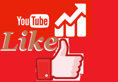 Instant add 400+youtube video likes 1-7 hours delivery