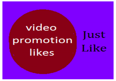 Video promotion 55+ Likes very Fast Delivery