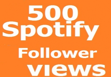 instant start 100 Real Spotify Followers -non drop