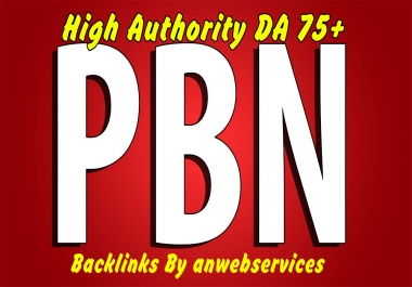 8 Permanent Dofollow PA60 - PA70 High Authority PBN Backlinks