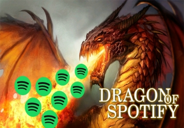 SPOTIFY 200k Dragon Plays
