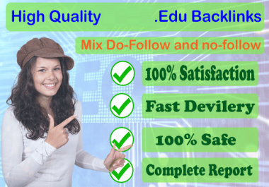 600 .EDU backlinks (include .edu.xxx domains - mix platforms) for $5
