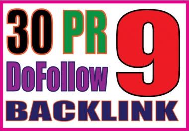 Manually 40 PR8-PR5 and 10 PR9 Paul Angela High Authority Quality Profile Backlink