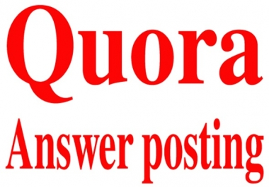 Boost your site by Quora answer with your website links