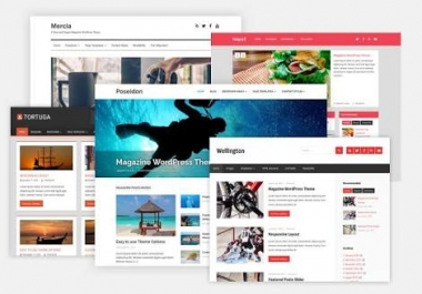 Design Responsive WordPress Or Blogspot Blog