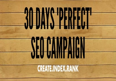 BOOST YOUR RANKINGS WITH OUR 30 DAYS SUPREME SEO PACK