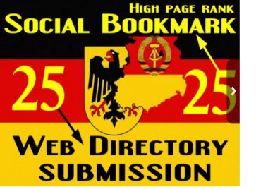 twenty five German Social Bookmarking And twenty five German Web Directory