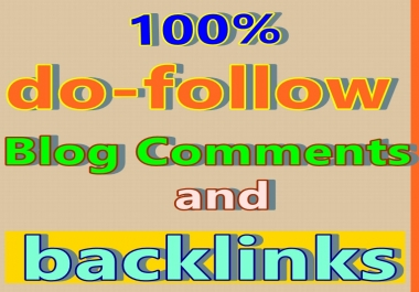 Do 50 approval  blog comments with your website URL