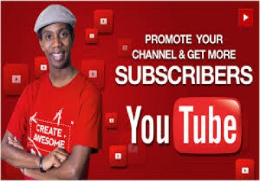 Add 555+ You-Tube All Time Active Never Drop Subs-criber Instant Start