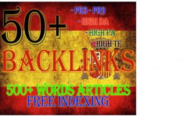 Do Keyword Related Spanish Seo With High Pr Backlinks